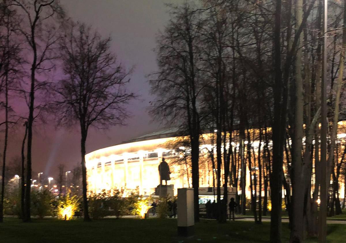 CSKA Mosca - Roma: lo stadio Luzniki