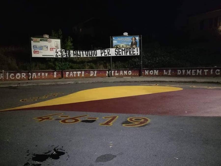 4-6-89, 4-6-19 Antonio per sempre! - Curva Sud - ROMA