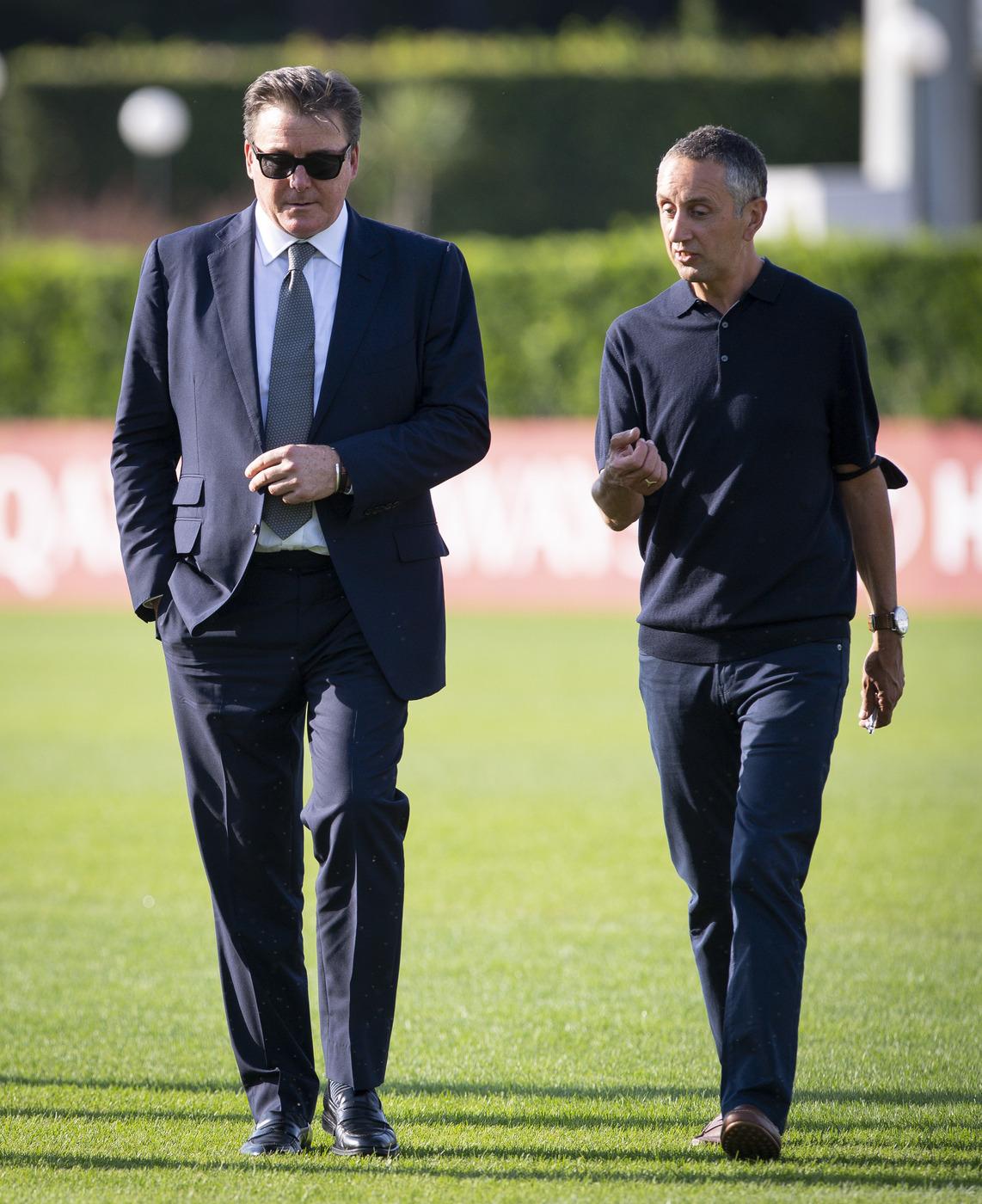 Dan Friedkin visita il centro sportivo della AS Roma