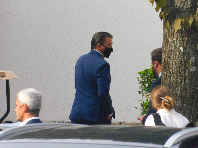 Il presidente della AS Roma Dan Friedkin arriva a Trigoria - 11 settembre