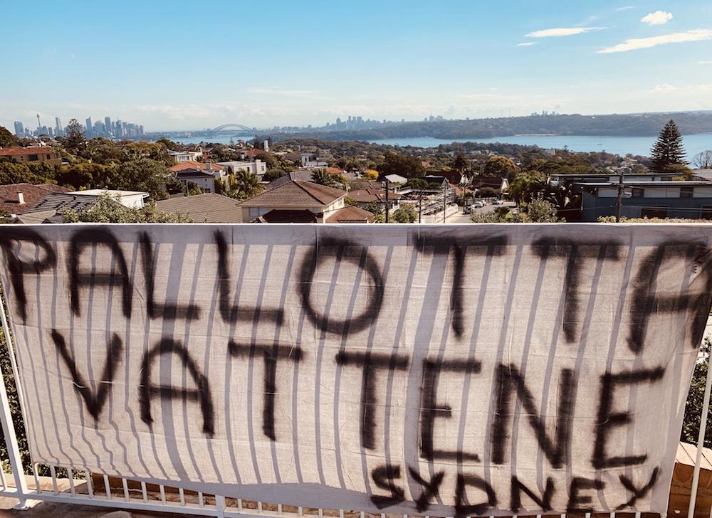 Striscione a Sydney: Pallotta vattene Sydney