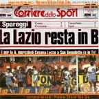 La Lazio resta in b