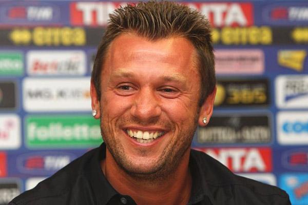 Cassano: Totti ha sbagliato a smettere. Le cassanate? A Roma ho fatto impazzire Capello