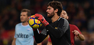 Mercato AS Roma - Il Chelsea segue Alisson in caso di partenza di Courtois