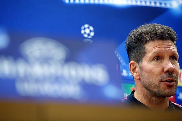 Simeone in conferenza stampa: Giocheremo al massimo contro una squadra che ci affronterà a viso aperto