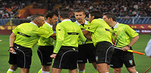 Serie A - Arbitri 25ª Giornata