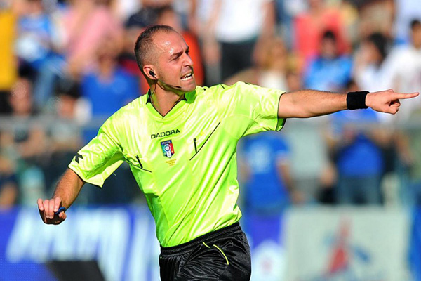 Pairetto dirigerà Roma-Spal. Gli arbitri della 9ª Giornata di Serie A
