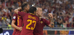 Roma-Udinese 3-1 FINALE