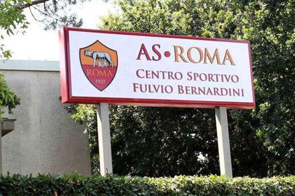 AS Roma - Allenamento pomeridiano