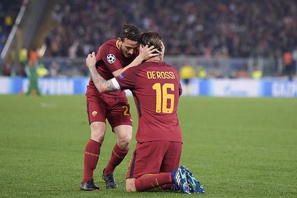 De Rossi: La partita contro il Barcellona è stata la più epica degli ultimi 20 anni