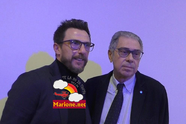 Di Francesco presente all'evento Il Calcio è chi lo Racconta' (Foto)