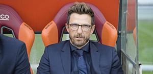 Di Francesco: Ho sempre sognato di diventare l'allenatore della Roma. Il derby del 3-3? Un'emozione unica