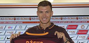 Dzeko: Sarà una Roma forte. Defrel? Mi piace, possiamo giocare insieme