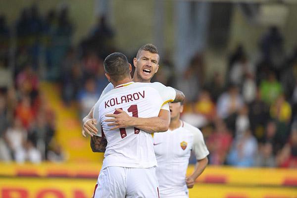 Mercato AS Roma - Prosegue la trattativa per il trasferimento di Dzeko ed Emerson al Chelsea