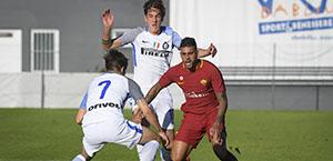 AS Roma Primavera: Emerson Palmieri è tornato in campo nel match contro l'Inter