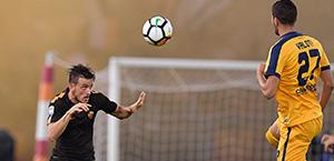 Dzeko: La Roma deve cercare di giocare bene per tutti i novanta minuti. Servono tempo e pazienza