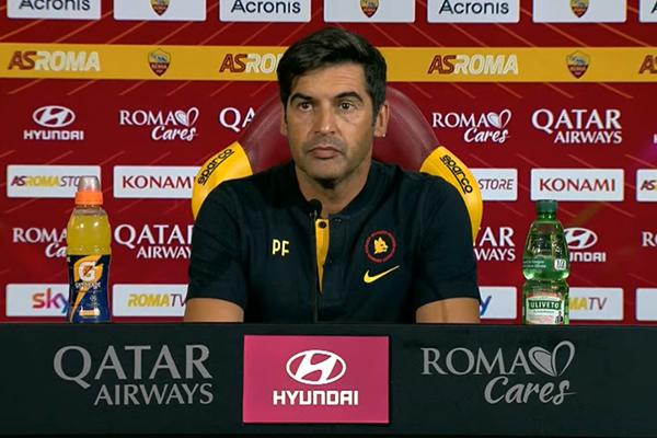 Fonseca in conferenza stampa: La squadra non è depressa, ha sempre reagito bene dopo le sconfitte. Kumbulla, Mayoral e Pau Lopez giocheranno