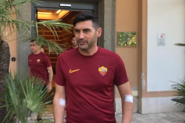 AS Roma - Visite mediche per il tecnico Paulo Fonseca