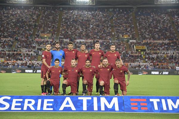 Le formazioni ufficiali di Inter-Roma