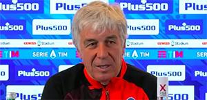 Gasperini in conferenza stampa: Contro la Roma gara importantissima ma non decisiva. Spero che i giallorossi possano vincere l'Europa League