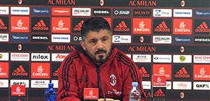 Gattuso in conferenza stampa: Non voglio vedere gli errori di Napoli. Dobbiamo stare sul pezzo fino alla fine