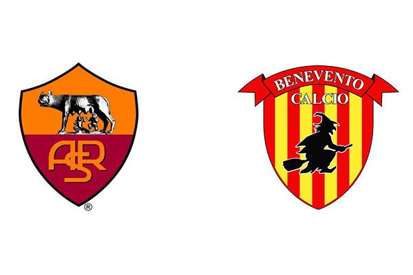 Roma-Benevento 5-2 FINALE