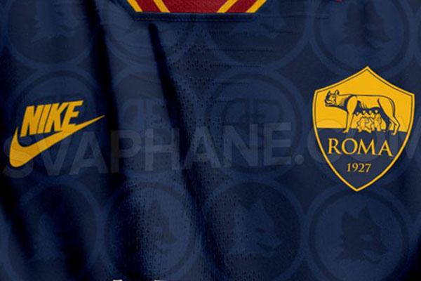 AS Roma: anticipazioni seconda e terza maglia per la stagione 2019-20