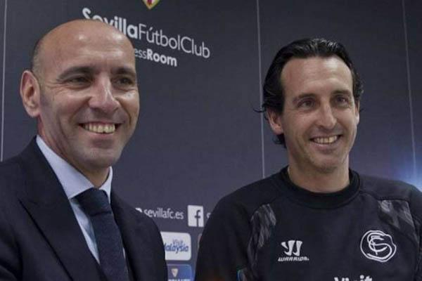 Emery parla di Monchi: Ho un buon rapporto con lui ma lavora per la Roma