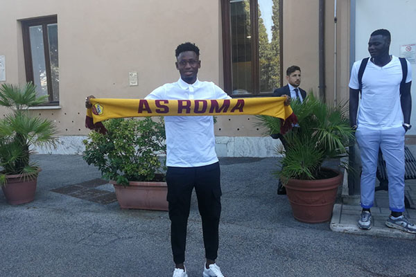 AS Roma: visite mediche per Amadou Diawara (Foto)
