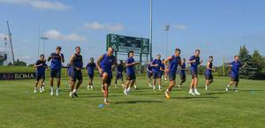 Roma, le foto dell'allenamento negli USA del 17 luglio