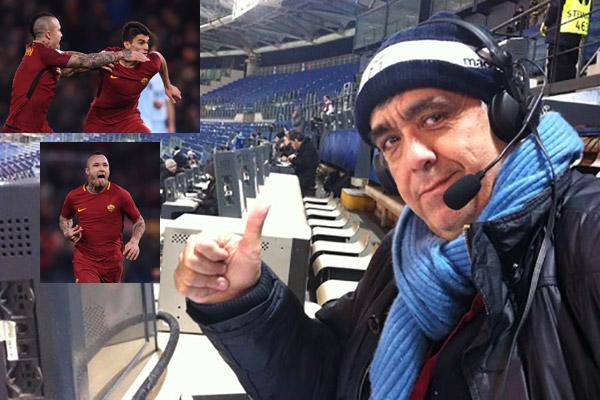 Roma - lazio 2-1 raccontata da Guido De Angelis (video)