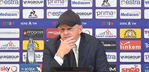 Iachini in conferenza stampa: La Roma è una grande squadra. Voglio vedere coraggio