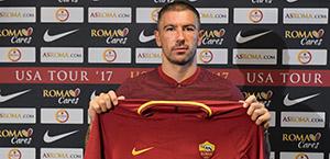 AS Roma: ufficiale l'acquisto di Aleksandar Kolarov