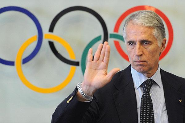 Malagò: Il mondo dello sport reclama con pieno titolo e diritto la capienza massima all'interno degli impianti