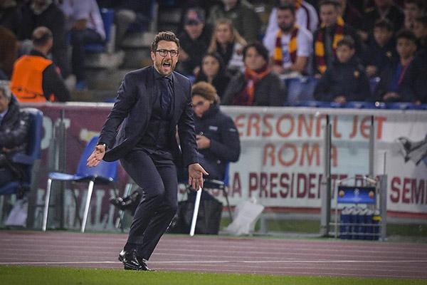Di Francesco: Contro il Real Madrid giocheremo il nostro gioco