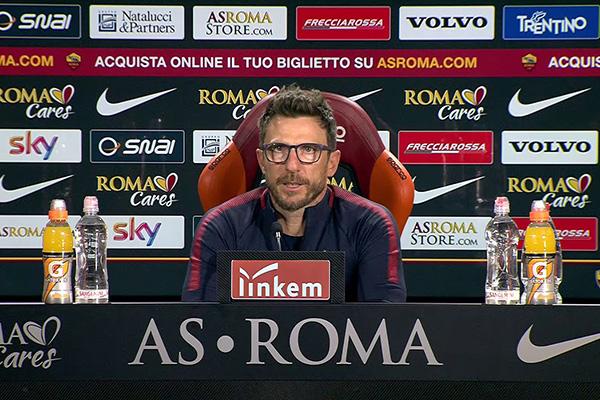 Di Francesco in conferenza stampa: Serve continuità e non dobbiamo sottovalutare la Spal. De Rossi e Kolarov non ci saranno