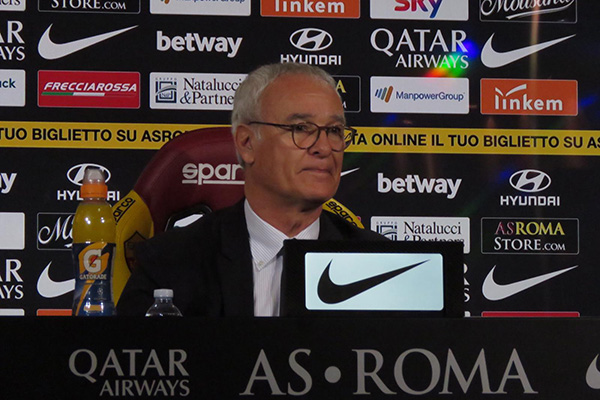 Ranieri in conferenza stampa: Il Cagliari? Non dobbiamo sottovalutarlo. Schick ha tutti i requisiti per poter diventare un campione