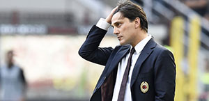 Serie A - Milan: esonerato Vincenzo Montella, squadra a Gattuso