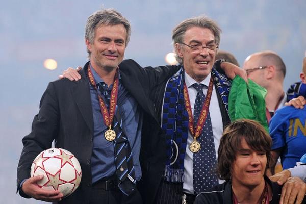 Moratti: Mourinho si è preso una bella responsabilità, ma sta facendo molto bene