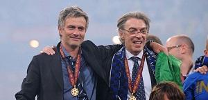 Moratti: Mourinho alla Roma farà bene, è la persona giusta: bel progetto, bella piazza e bella tifoseria