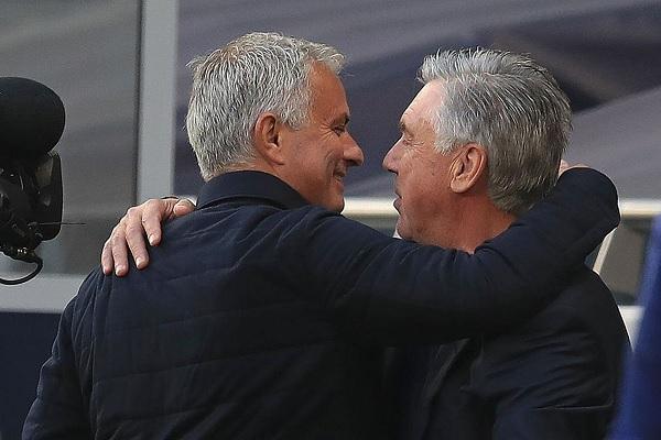 Ancelotti: Mourinho è roba grossa, i tifosi lo adoreranno. Bollito? Il cotechino nel carrello è bollito non lui