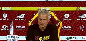 Mourinho in conferenza stampa: Serve equilibrio, dobbiamo trasformare la tristezza in motivazione non in depressione. Viña? Non sarà a disposizione