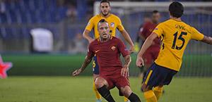 AS Roma - Primo allenamento della settimana