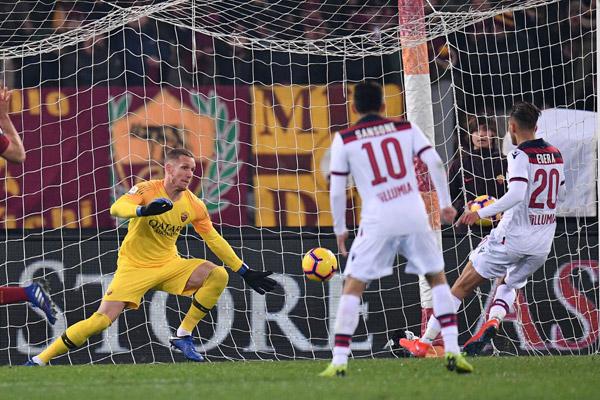 Olsen dopo Roma - Bologna: Vinciamo e perdiamo tutti insieme come una squadra (video)