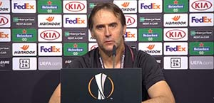 Lopetegui in conferenza stampa: La partita contro la Roma è una finale
