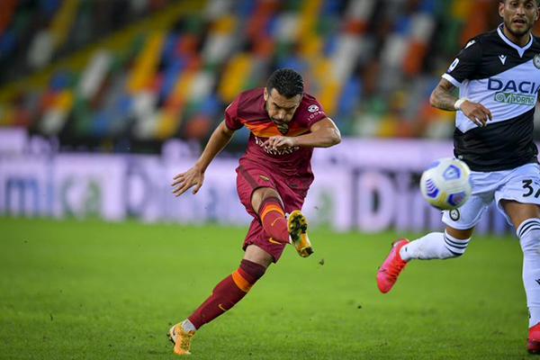 Pedro a fine partita: La Roma ha qualità, possiamo raggiungere i nostri obiettivi