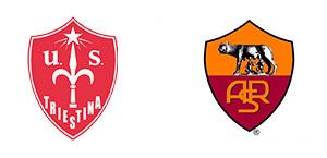 La Roma batte la Triestina 1-0: decide Zalewski