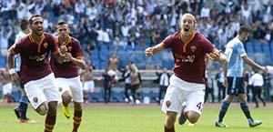 AS Roma – Il video del gol di Balzaretti nel derby