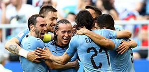 Mondiali - Gruppo A: l'Uruguay chiude al primo posto
