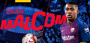 Mercato - Malcom è un nuovo giocatore del Barcellona